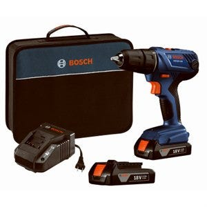 18-Volt Compact Drill/Driver Kit, 1/2-In., 2 Lithium-Ion Batteries