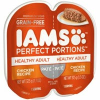 Perfect Portions Cat Food Tray, Pate Chicken, 2.6-oz.