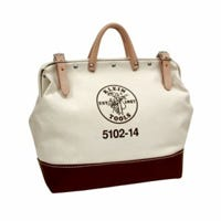 Tool Bag, #8 Natural Canvas, 14-In.