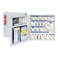Smart Compliance First Aid Cabinet, Metal Case, 50-Person