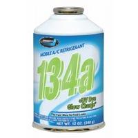 R134a Auto A/C Refrigerant With UV Dye, 12-oz.