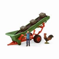 Hay Conveyor With Farmer