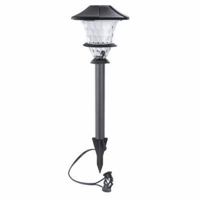 LED Path Light, Black Aluminum, 16 Lumens, .75-Watt