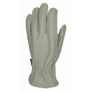 Image of Full Pigskin Leather Work Gloves, Men's M