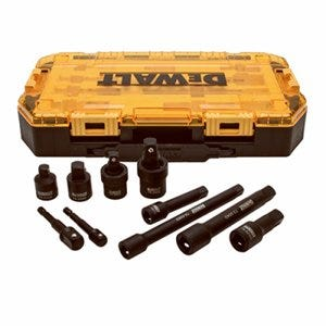 10-Pc. Impact Socket Accessory Set, 3/8 & 1/2-In. Drive