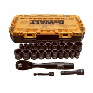 23-Pc. Impact Socket Set, 3/8-In. Drive