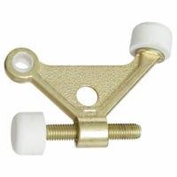 Hinge Pin Door Stop, Brass