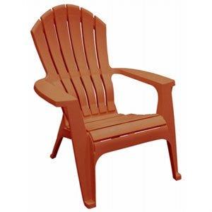 RealComfort Adirondack Chair, Ergonomic, Resin, Sedona