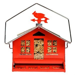 Squirrel-Be-Gone II Country-Style Bird Feeder, 8-Lb.Capacity