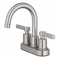 Mid-Arch Lavatory Faucet, 2-Handle, Brushed Nickel