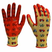 Garden Gloves, Nitrile-Dipped, Youth Boy's