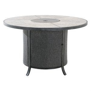 Avellino Fire Pit / Dining Table, Counter Height