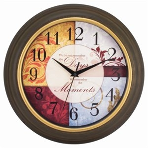 Image of Sentiment Wall Clock, 11.25-In.