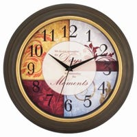 Sentiment Wall Clock, 11.25-In.