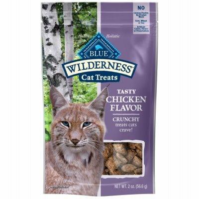 Cat Treats, Wilderness Crunchy Chicken, 2-oz.