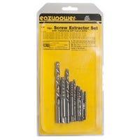 Screw Extractor & Drill  Set, 10-Pc.