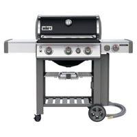 Weber Genesis II E-330 3-Burner Natural Gas Grill + Side Burner, 39,000-BTU, Black