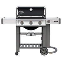 Weber Genesis II E310 3-Burner Natural Gas Grill, 39,000-BTU, Black