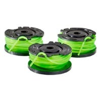 Replacement String Trimmer Line & Spool, Single, .080, 3-Pk.
