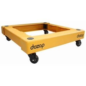 Self-Contained Compact Dolly, 19 x 19 x 5-In.