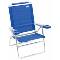 Beach/Backyard Chair, Cushioned, 15-In.
