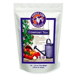 Image of Compost Tea Fertilizer, Twelve 2-oz. Bags