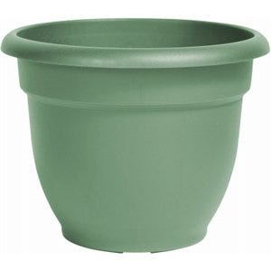 Ariana Planter, Plastic, Self-Watering, Bell Shape, Living Green, 6-In.