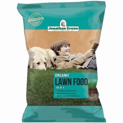 Image of Organic Lawn Food, 10-0-1 Formula, 15,000-Sq. Ft. Coverage