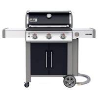 Weber Genesis II E-315 3-Burner Natural Gas Grill + Side Burner, 39,000-BTU, Black