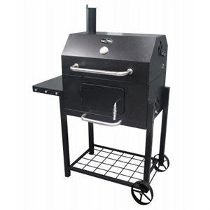 Deluxe Charcoal Cart Grill, 411-Sq. In. Cooking Surface,
