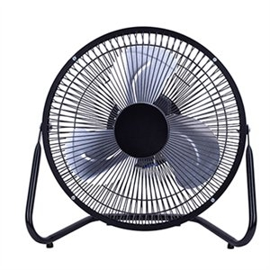 Image of High-Velocity Personal Fan, 3-Speed, Black, 9-In.
