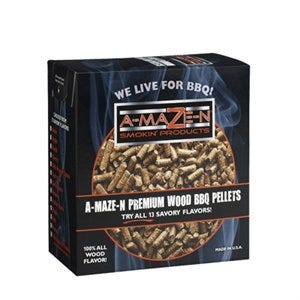 Premium BBQ Pellets, Apple, 2-Lb.