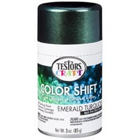 Color Shift Spray Paint, Emerald Turquoise, 3-oz.