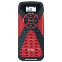 Multi-Powered Weather Radio, Smartphone Charger & Flashlight