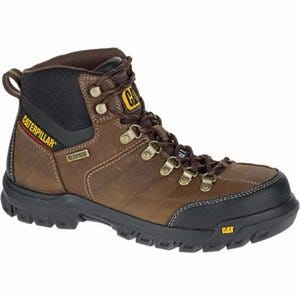 Threshold Waterproof Steel-Toe Boot, Leather Upper, Men's Size 7 Wide
