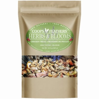 Image of Poultry Treat, Herbs & Blooms Vitality Mix, 10.5-oz.