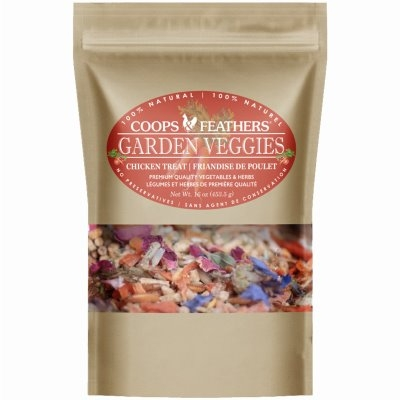 Image of Poultry Treat, Garden Veggie, 1-Lb.