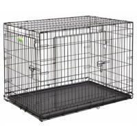 Dog Training Crate, 2 Doors, 48-In.