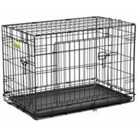 Dog Training Crate, 2 Doors, 30-In.