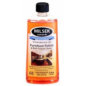 Furniture Polish & Multi-Purpose Cleaner, Orange Oil, 12-oz.