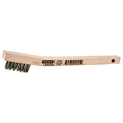 Welding Wire Brush, Stainless Steel, 8-In.