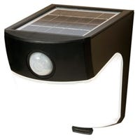 Solar LED Wedge Light, Motion-Activated, 300 Lumens, 40-Watt