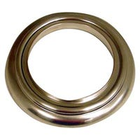 Decorative Tub Spout Ring Cover, Brushed Nickel, 2.5 I.D. x 3.75-In. O.D.