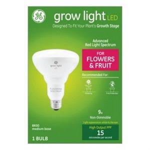 LED Horticultural Grow Light, BR30, 9-Watt