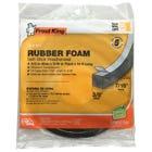 Rubber Foam Weatherseal Tape, 3/8W x 7/16-In. T x 10-Ft.