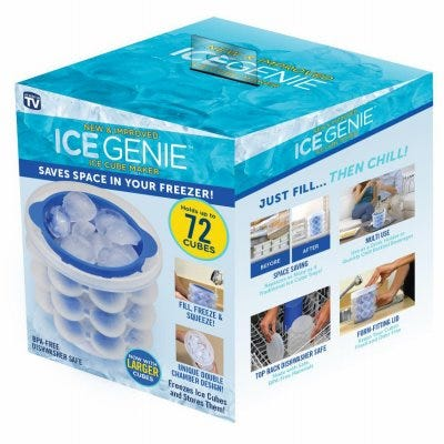 Ice Cube Maker, Space-Saver Design, As Seen On TV
