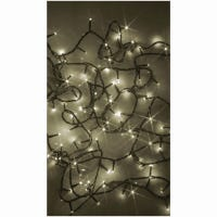 LED Compact String Light Set, Amicro, Warm White, 300-Ct.