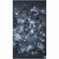 LED Compact String Light Set, Micro, Twinkling Pure White, 300-Ct.