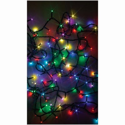 LED Compact String Light Set, Micro, Twinkling Multi-Color, 100-Ct.