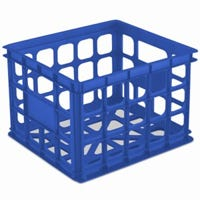 Storage Crate, Blue Morpho, 15.25 x 13.75 x 10.5-In.